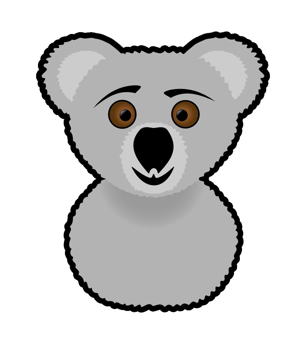 Clip Art: Koala Christmas Xmas Stuffed Animal ...