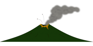 Free to Use & Public Domain Volcano Clip Art