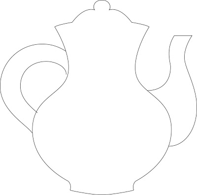 mothers day tea pot template clipart best. Black Bedroom Furniture Sets. Home Design Ideas
