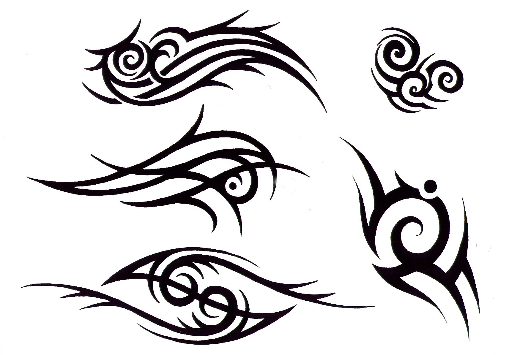 tribal tattoo design img1058 «TRIBAL «Flash tatto sets «Tattoo ...