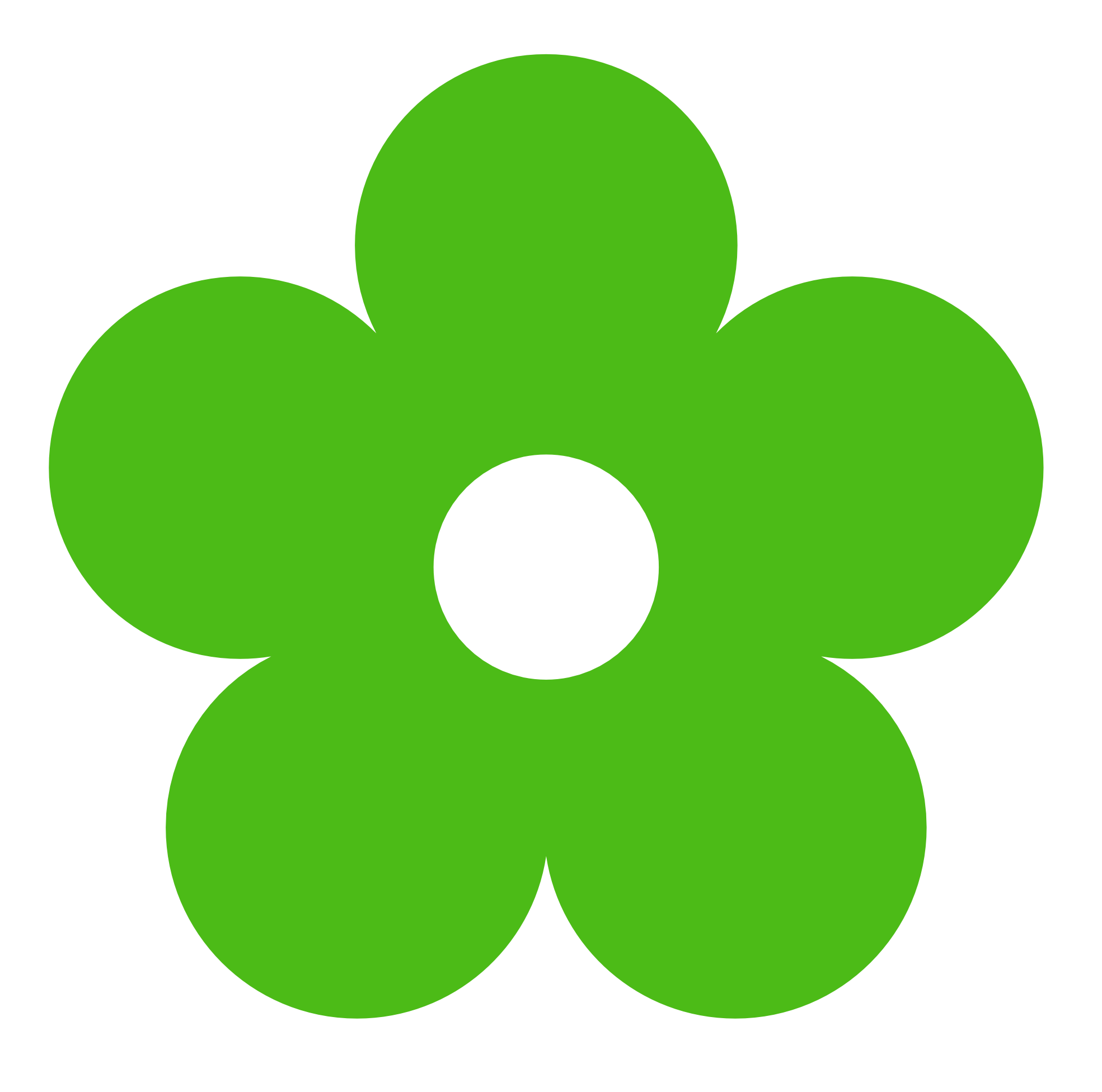 Green Flower Clipart - ClipArt Best