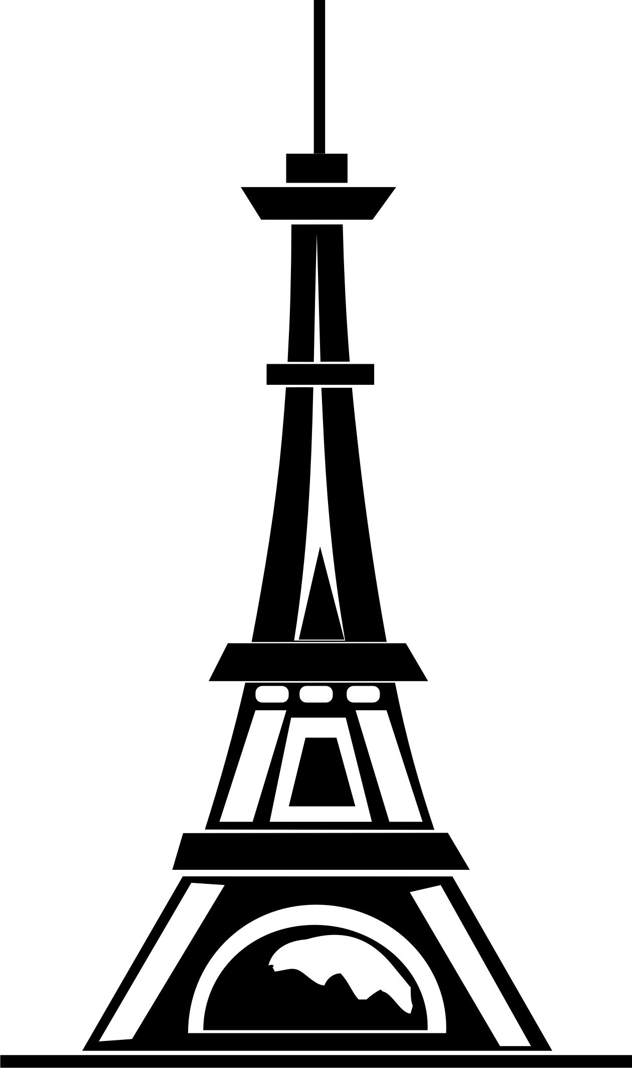 Line Art Eiffel Tower : Eiffel tower line drawing clipart best