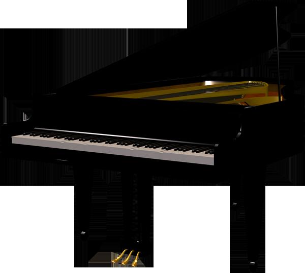 Black Piano Transparent ClipartUpright Piano Clip Art