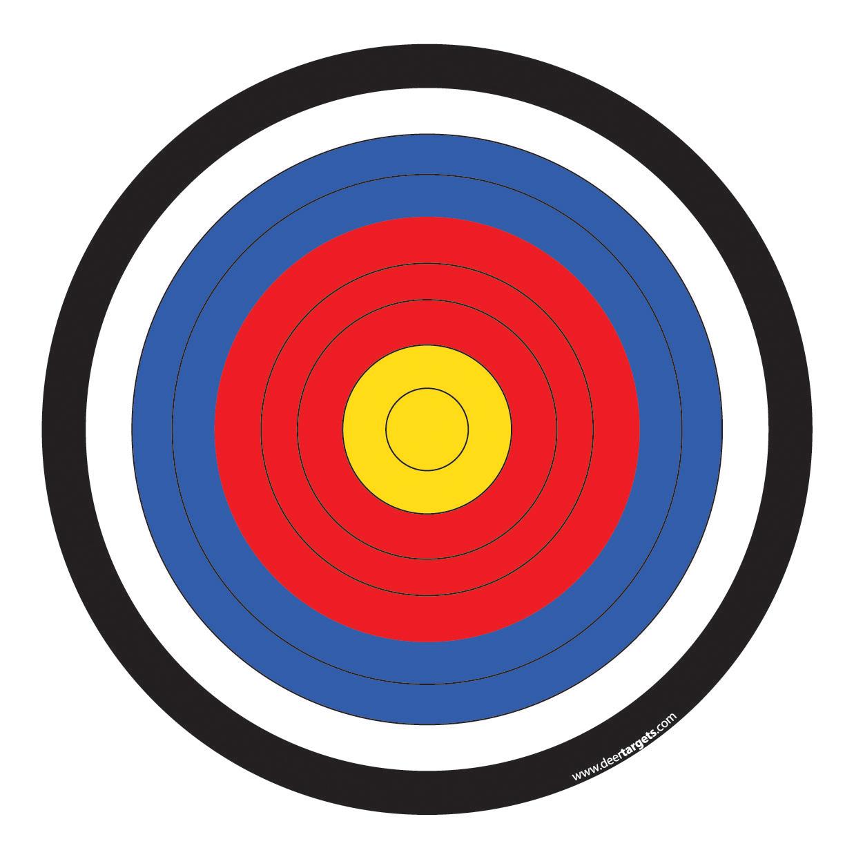 Targets Printable Page - InspiriToo.
