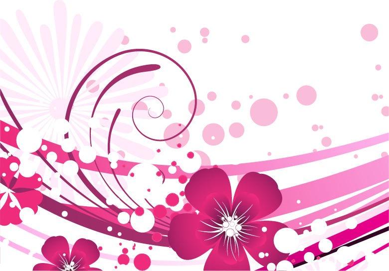 Pink Swirl Background - ClipArt Best