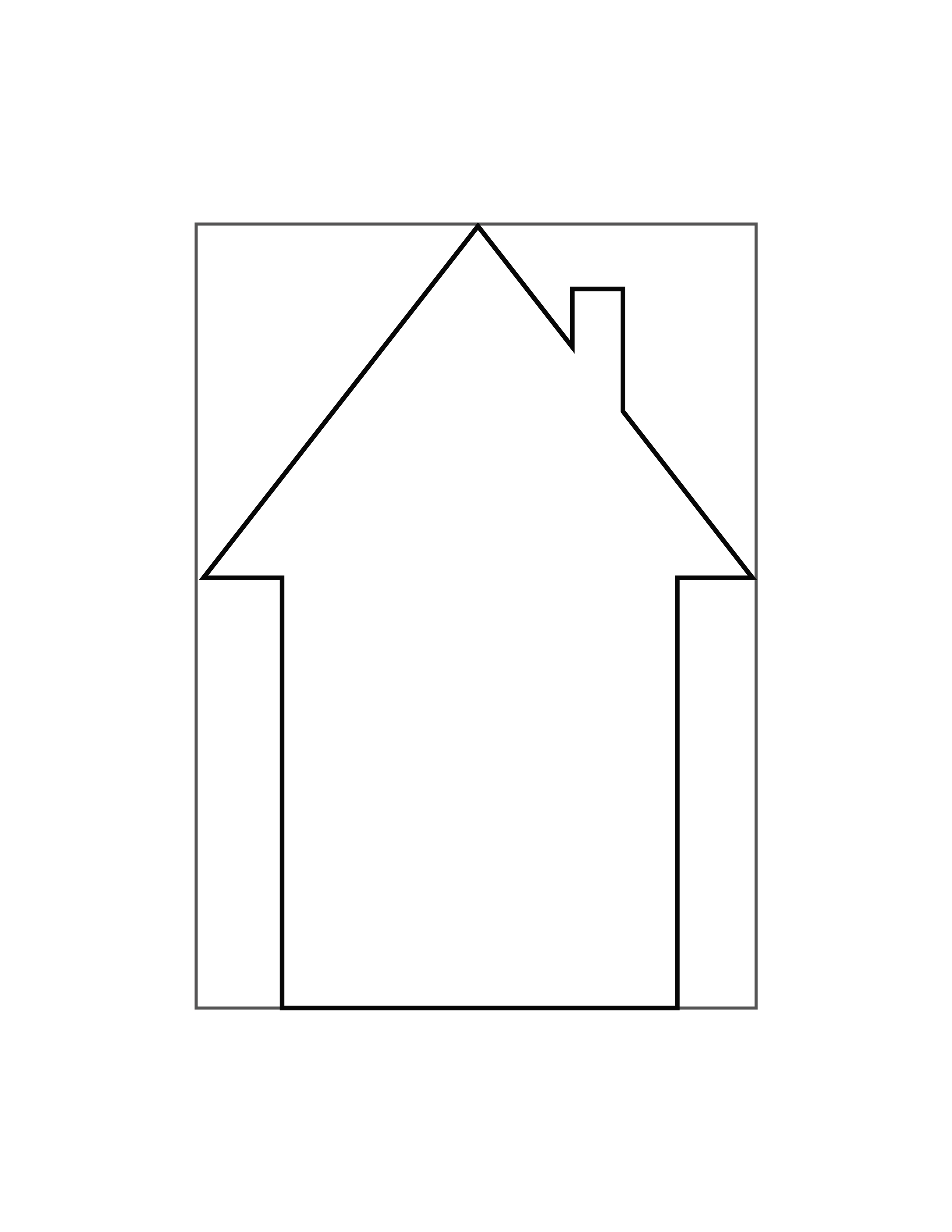 house template