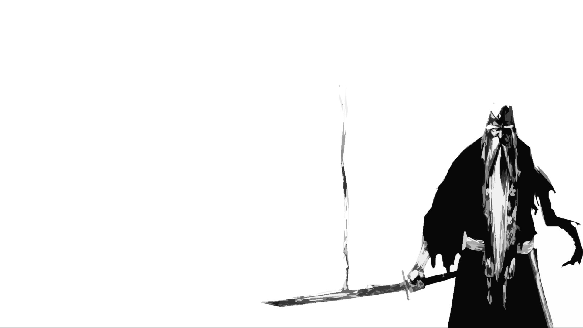 Bleach grayscale sword...
