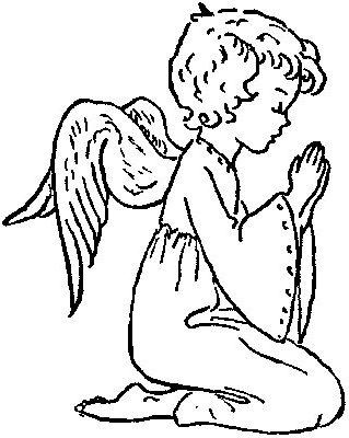angel coloring pagesbeautiful angel printables angel templates - Coloring Pages Beautiful Angels