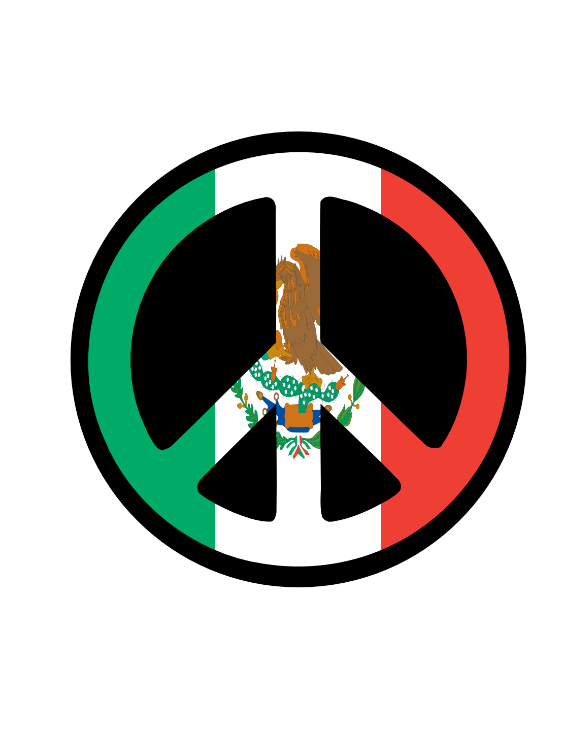 mexican flag logo clipart best