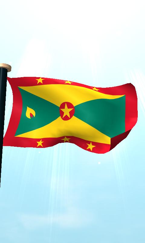 Grenada Flag 3D Free Wallpaper - Android Apps and Tests - AndroidPIT