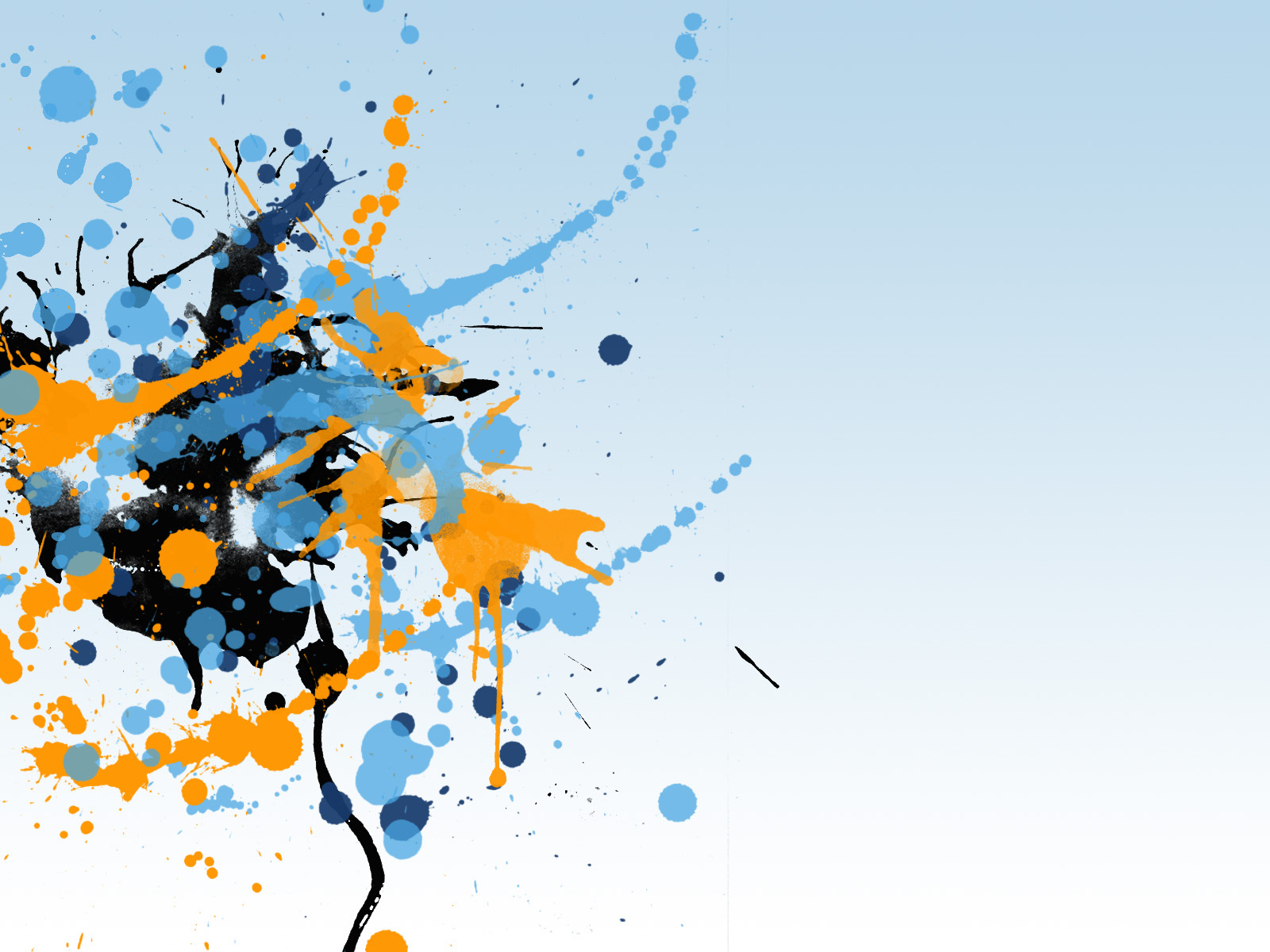 This is the great splatter ink blotch splash Wallpaper, Background