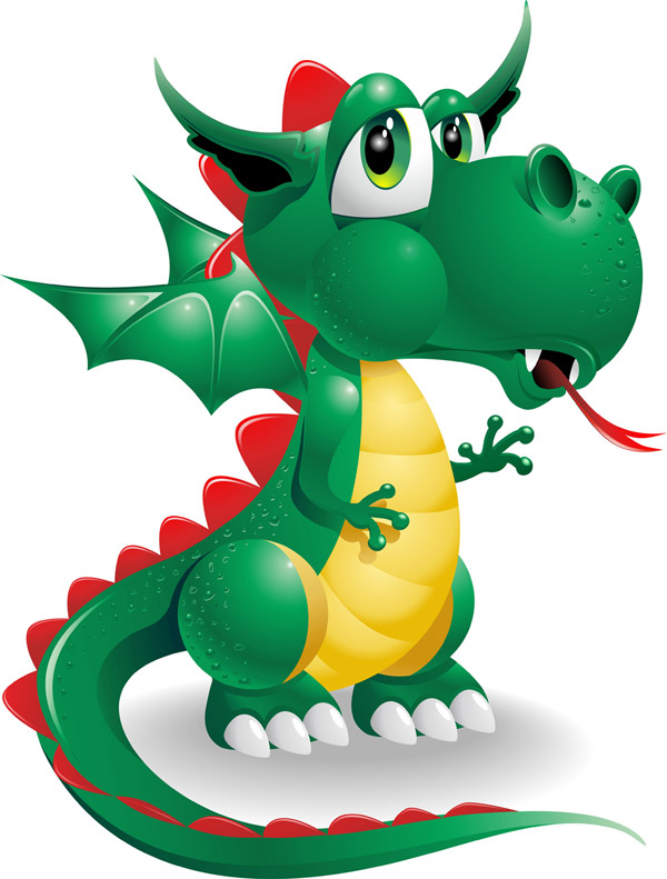 cute dragon cartoon pictures