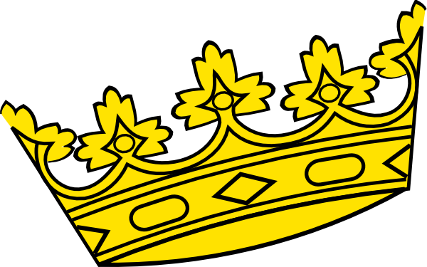 free vector clipart crown - photo #35