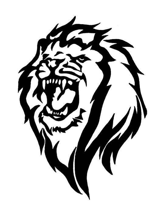 Tribal Lion image