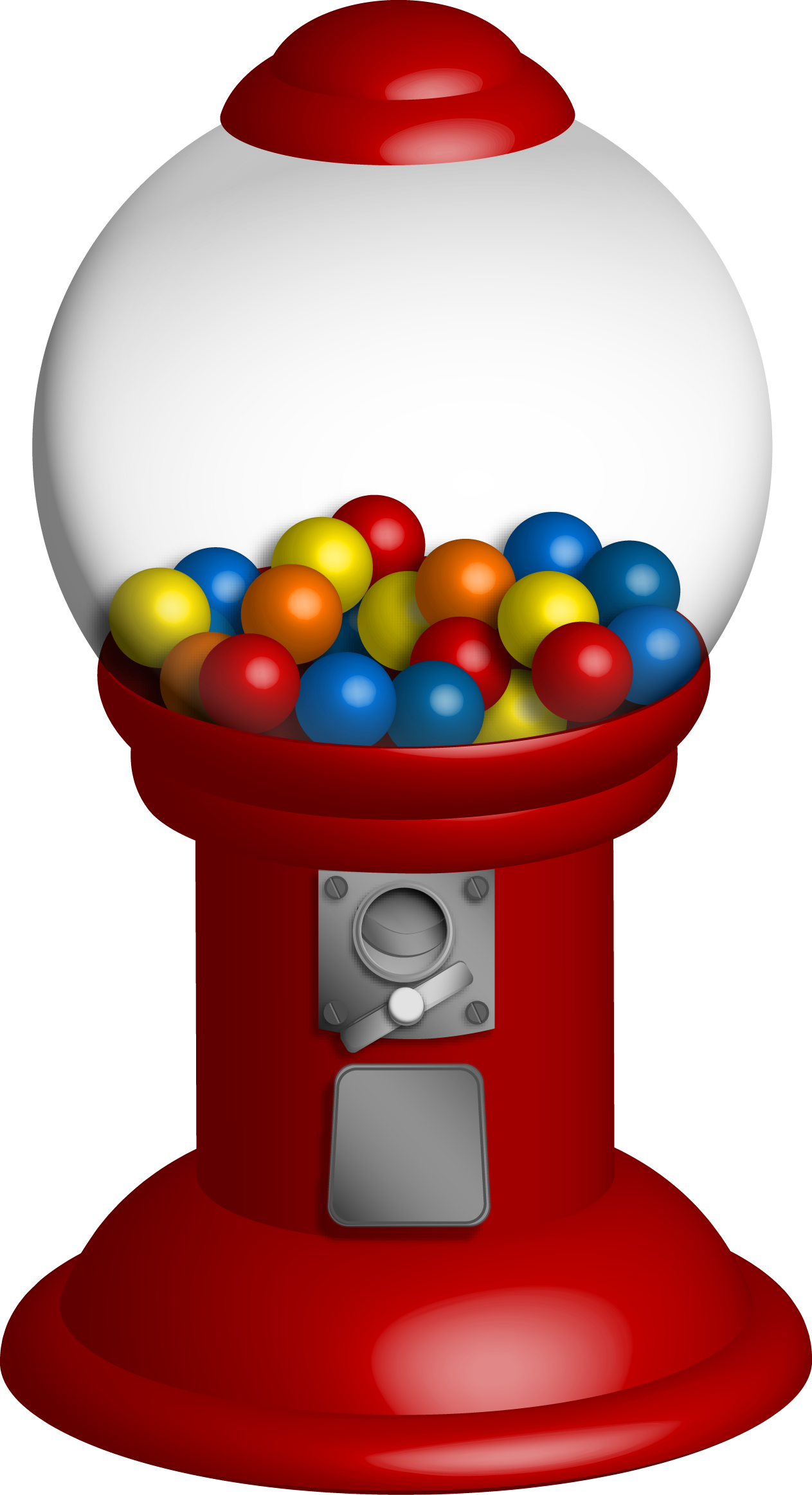 Pictures Of Gumball Machines - ClipArt Best