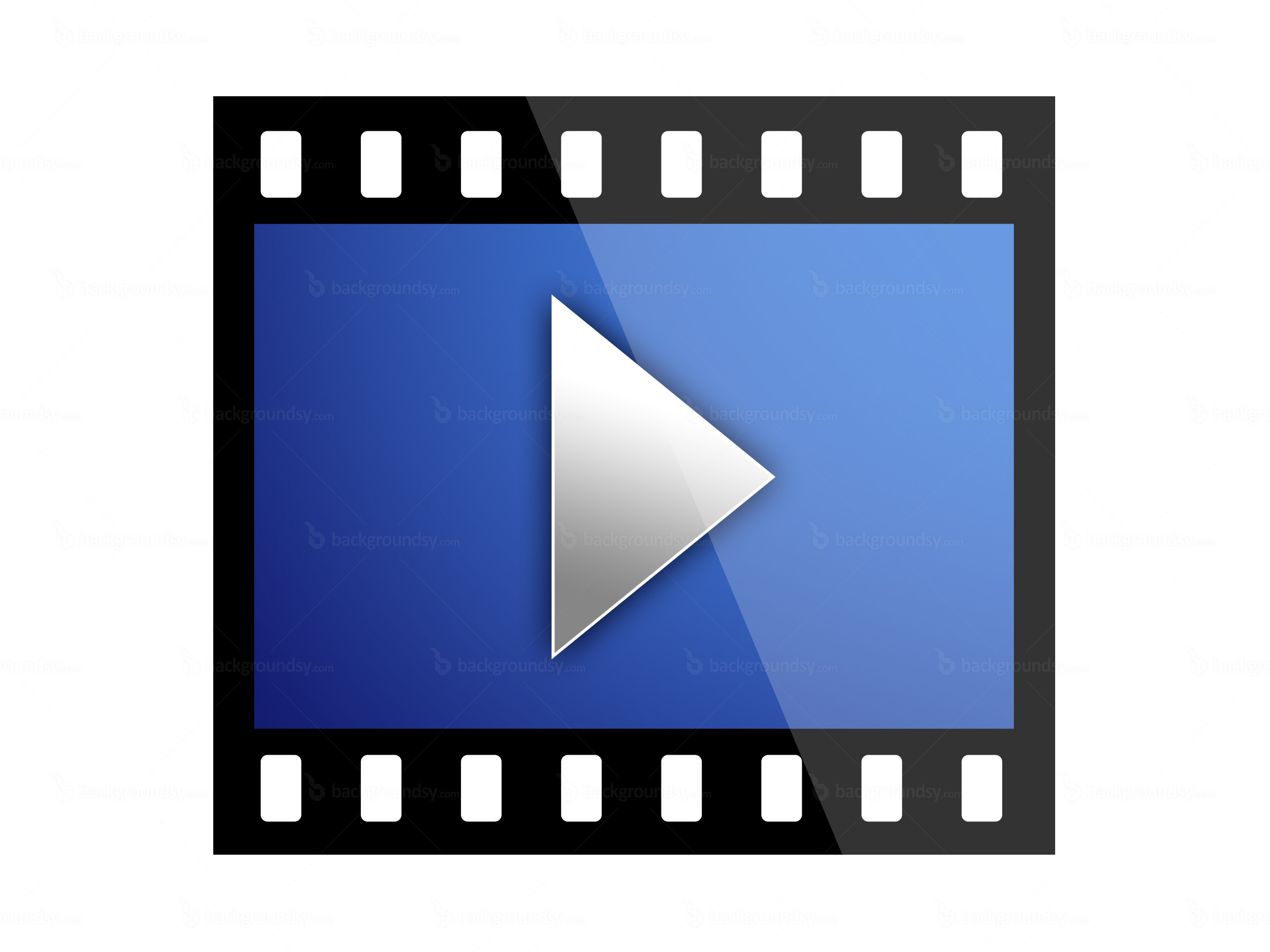 play movie icon clipart best