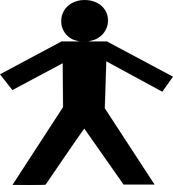 Stick Person Clipart