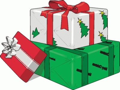 Christmas Presents Clip Art - Tumundografico