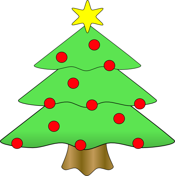 Christmas Tree Clip Art Vector Online Royalty Free - ClipArt Best ...