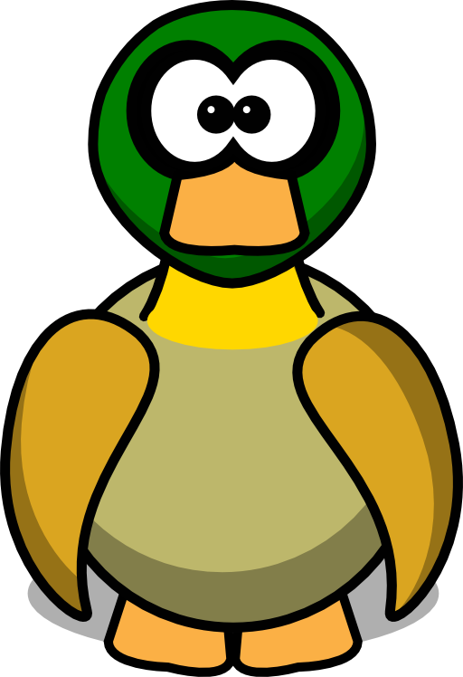 Cute Duck Cartoon - ClipArt Best