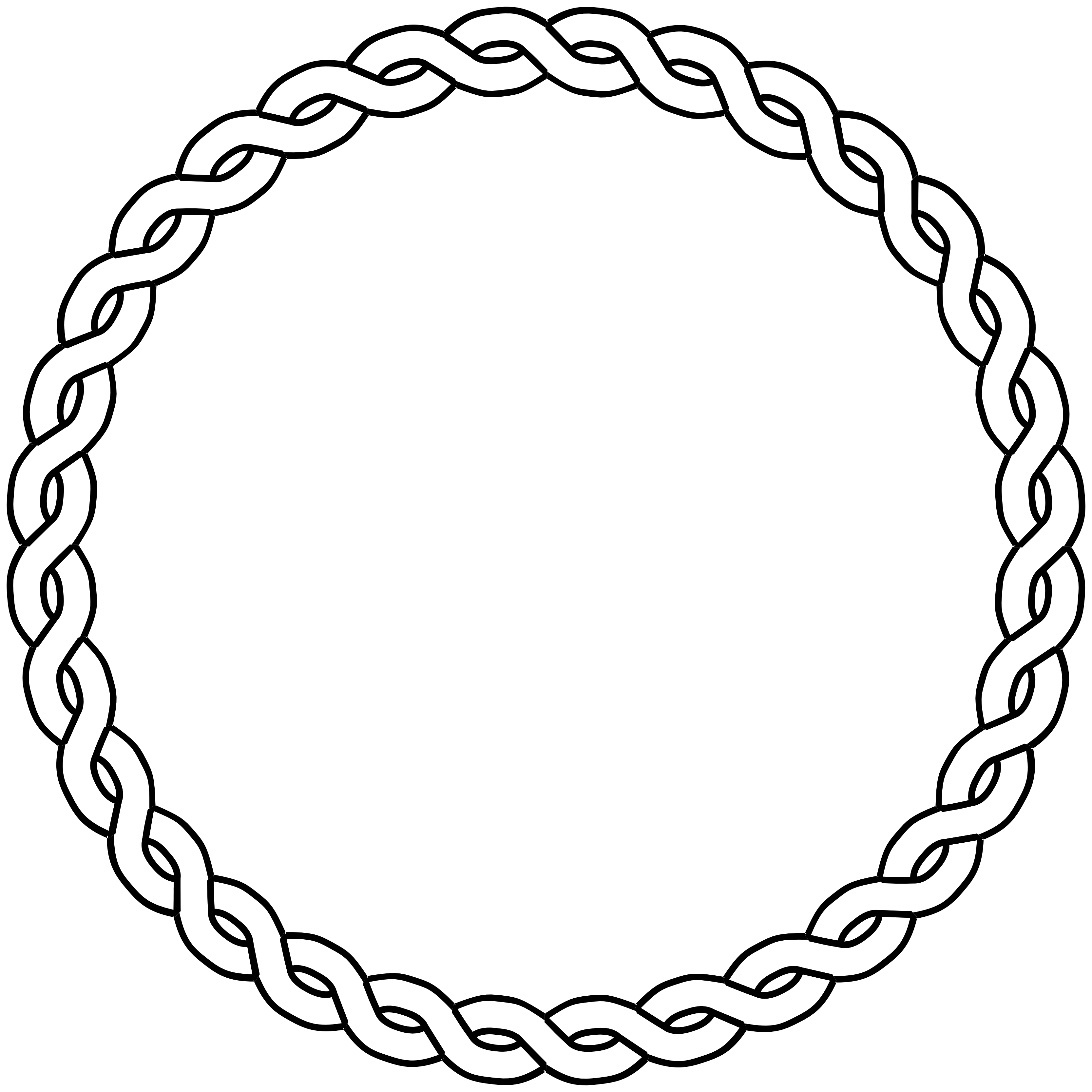 clipart rope border circle - photo #14