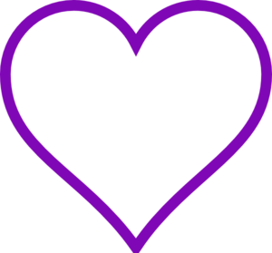 Purple Hearts Clip Art - ClipArt Best