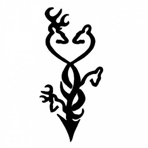 Deer Browning Logos - ClipArt Best