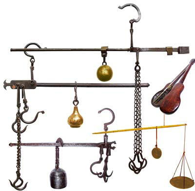 Hanging In The Balance Antique Scales Gilai