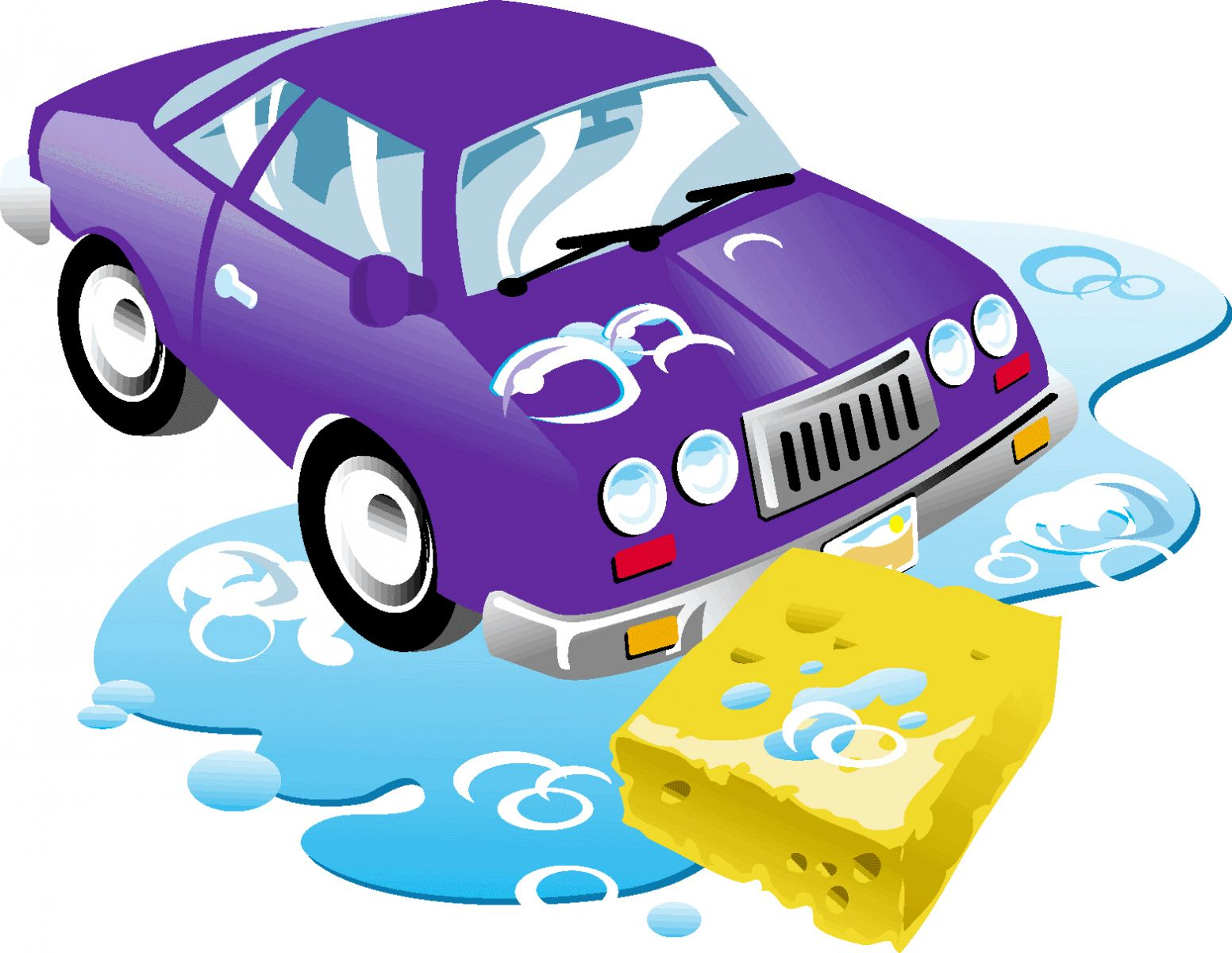 free cartoon car wash clipart - photo #4