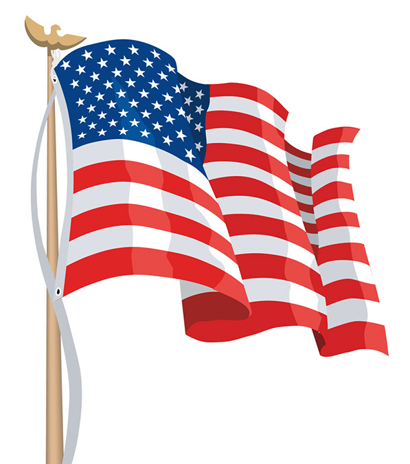 american flag clipart clipart best US Flag Clip Art American Flag Clip Art Animated