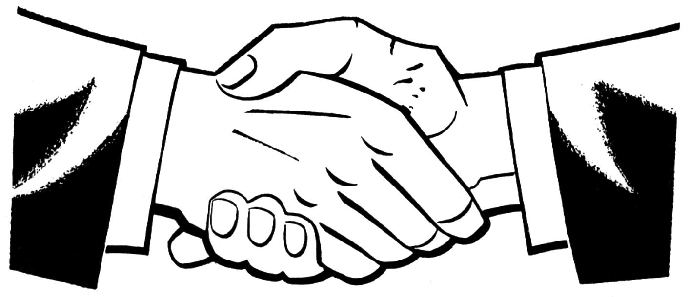 Shaking Hands Clip Art - ClipArt Best
