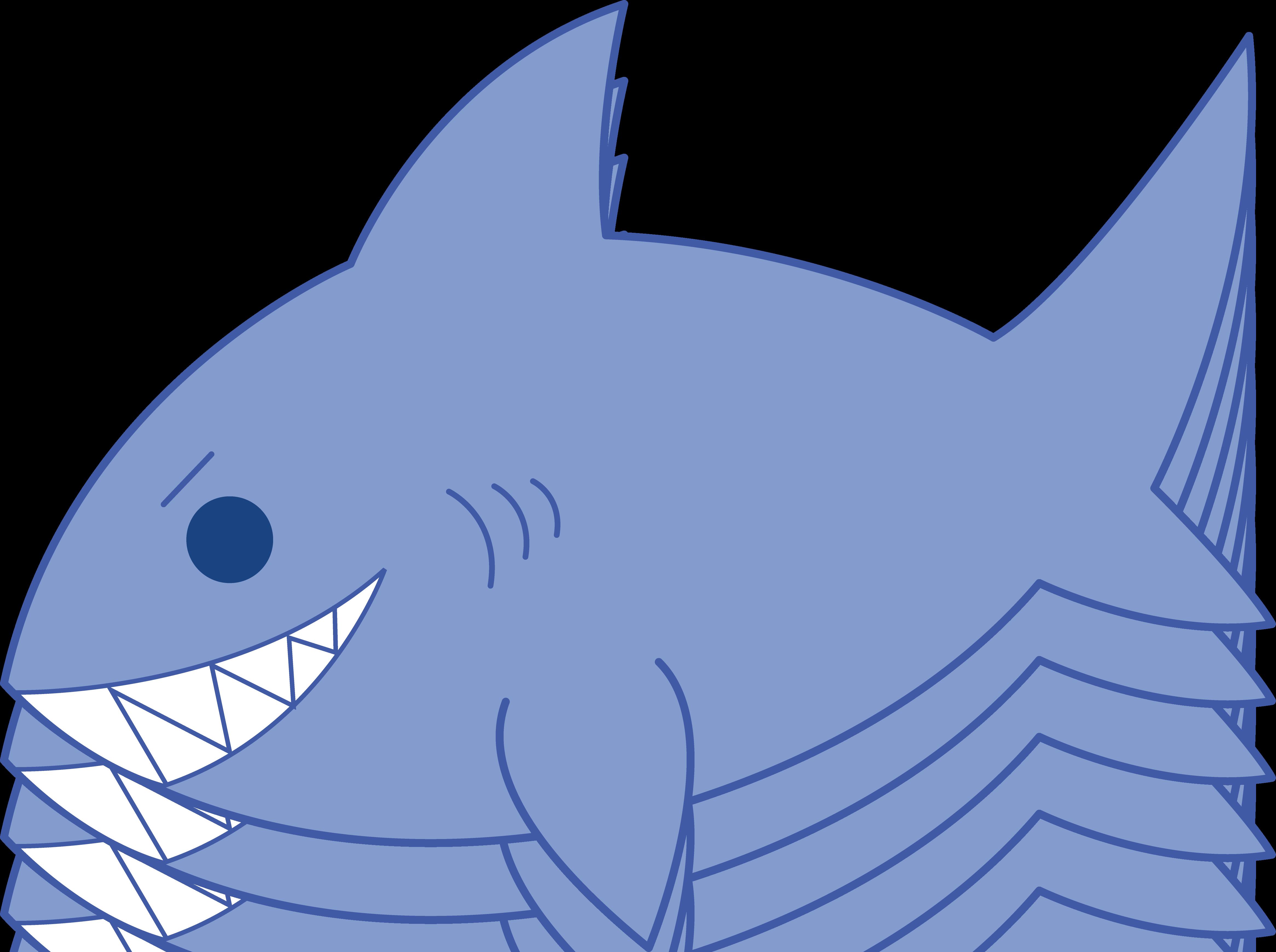 Cute Blue Fish Clipart - ClipArt Best
