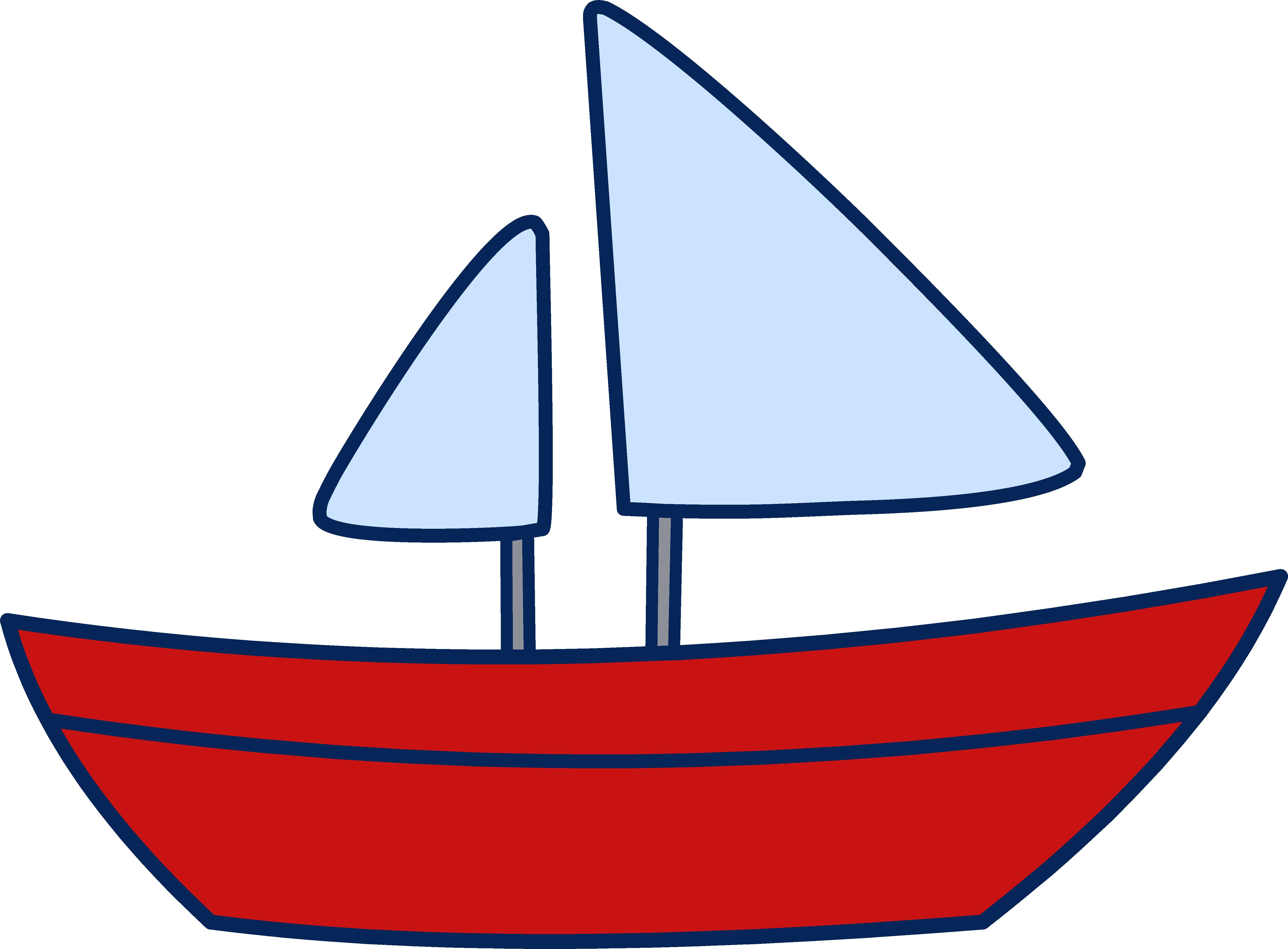 Cartoon pictures of a boat