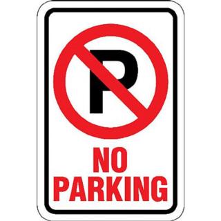 Gargantuan image regarding printable no parking sign