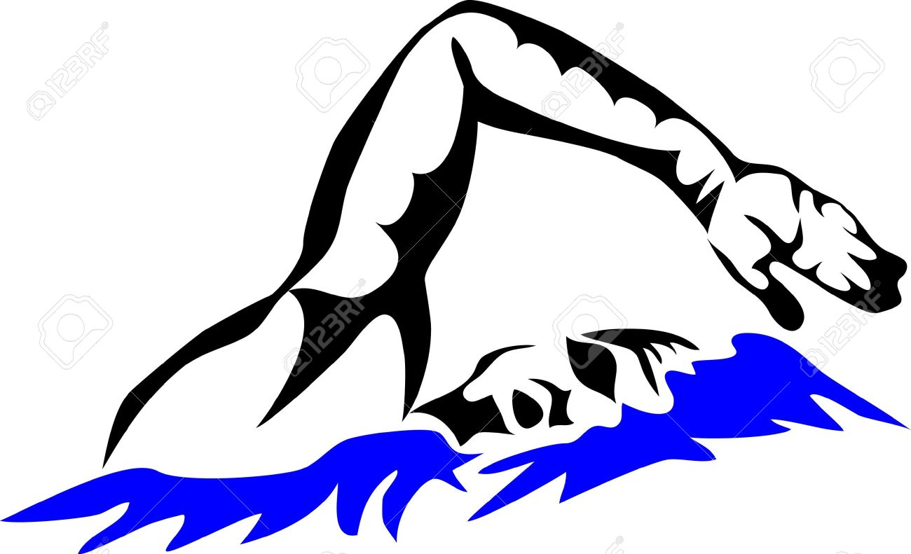 Swimming Logos Images Clipart Best
