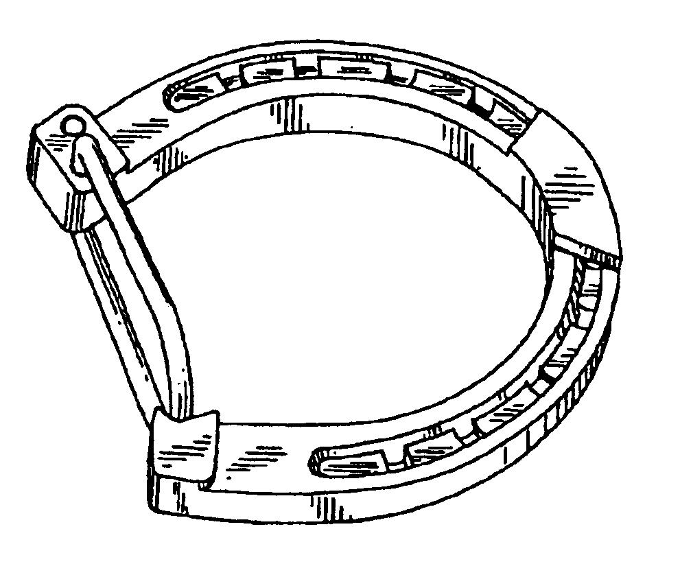 horseshoe drawing - photo #12