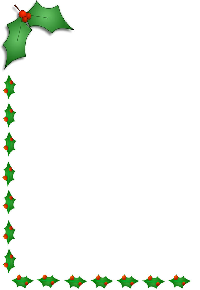 clipart xmas borders - photo #19