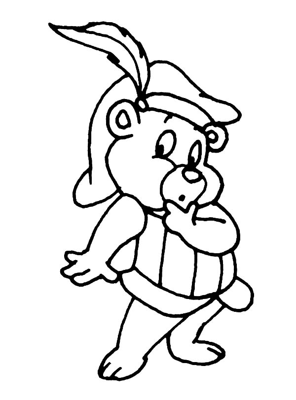 Gummy bear head coloring pages to print coloring pages for Bear head coloring page