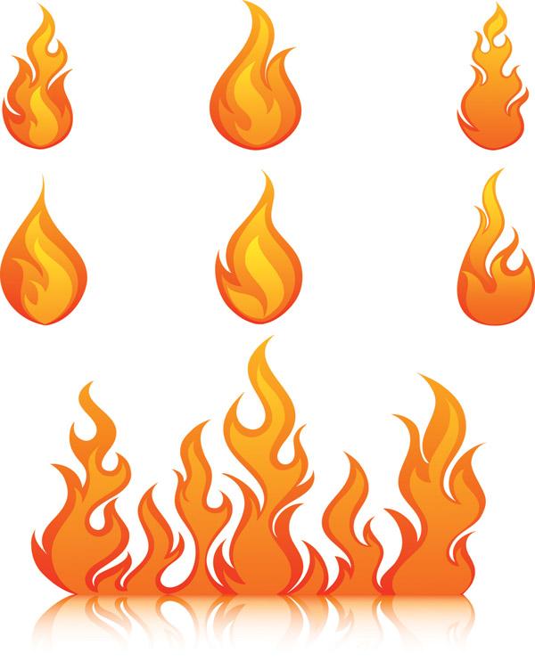 fire clip arts