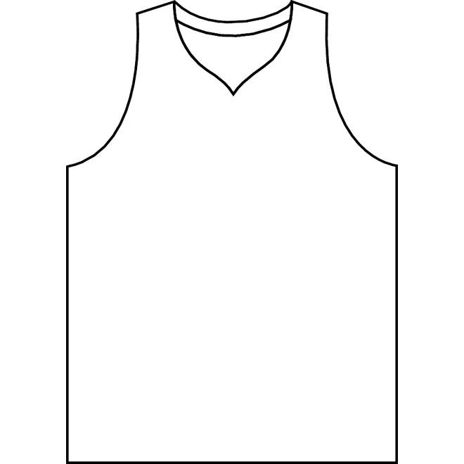 Free Printable Football Jersey Template