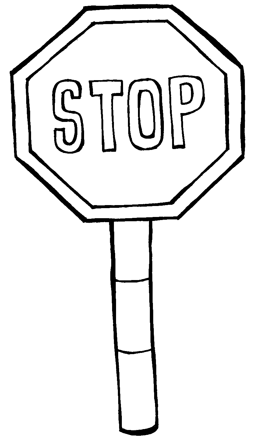 stop sign coloring pages pics of stop drawn stop signs clipart best