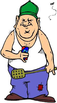 redneck cartoon people clipart best Redneck Happy Birthday Clip Art Funny Redneck Farmer