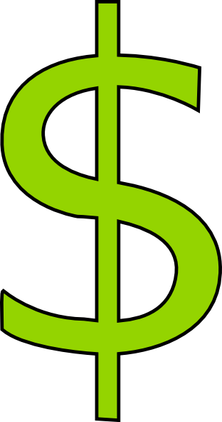 transparent money signs clipart best