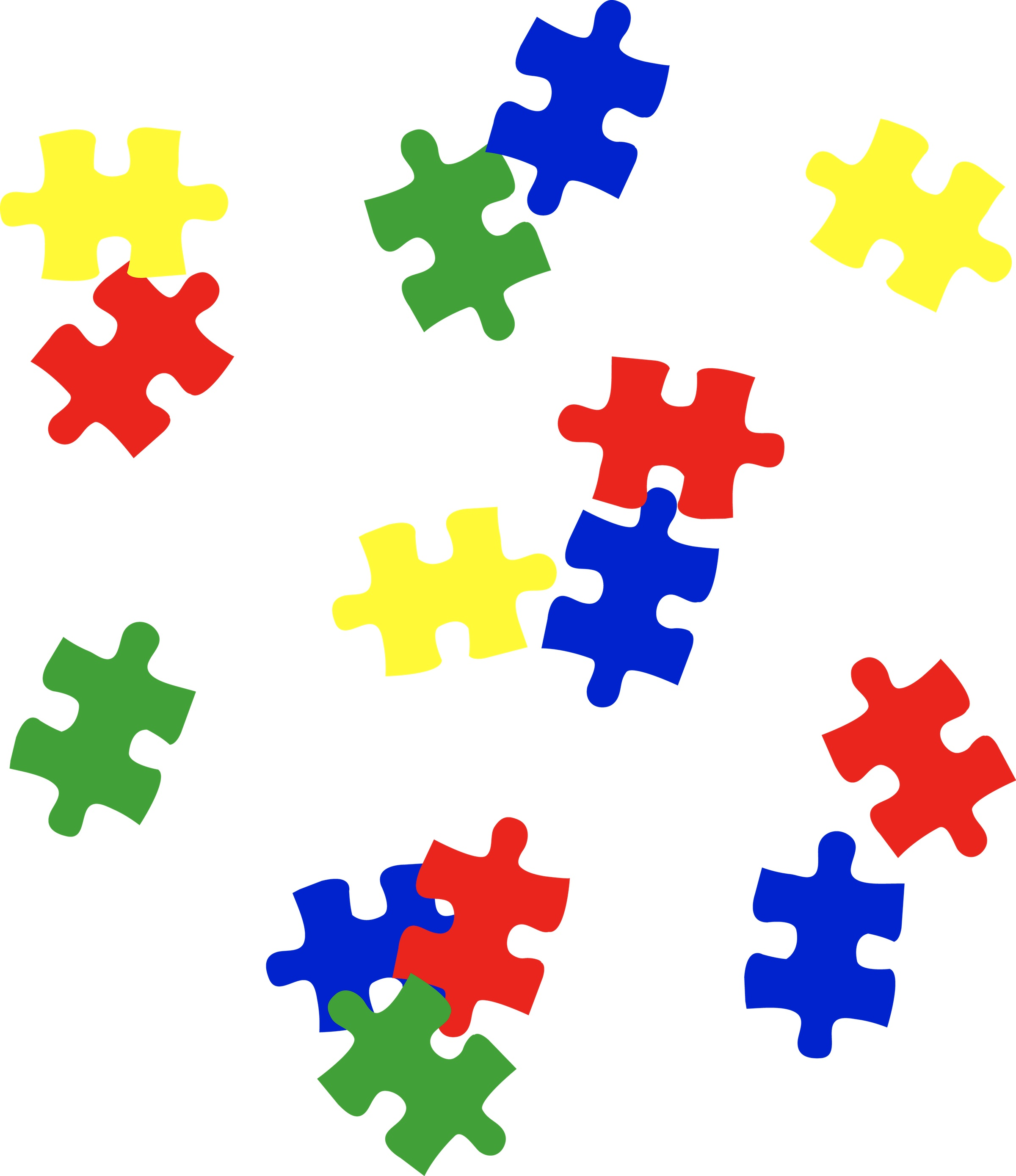 Puzzle Pieces Clip Art Powerpoint Clipart Best