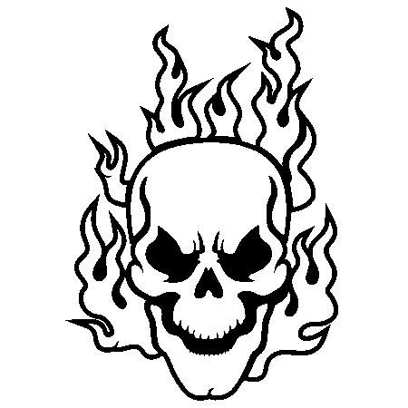 scary tattoos coloring pages - photo#20