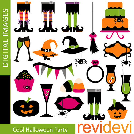 Halloween Party Clip Art - Free Clipart Images - ClipArt ...