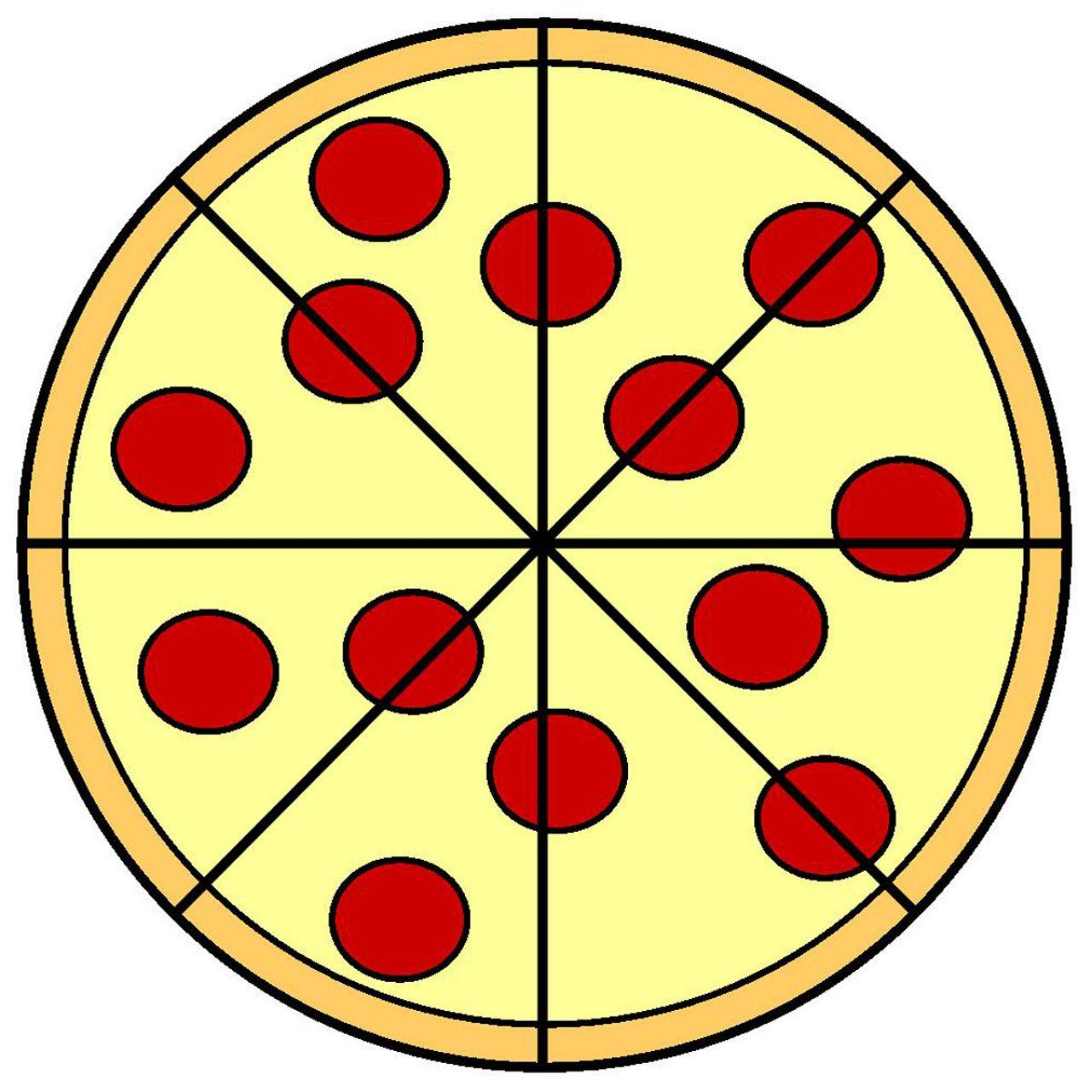 40+ Whole Pepperoni Pizza Clipart