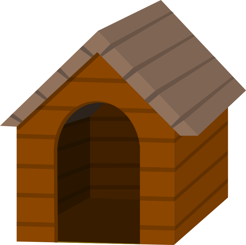 Free dog house clipart clipart best - Dog house images free ...