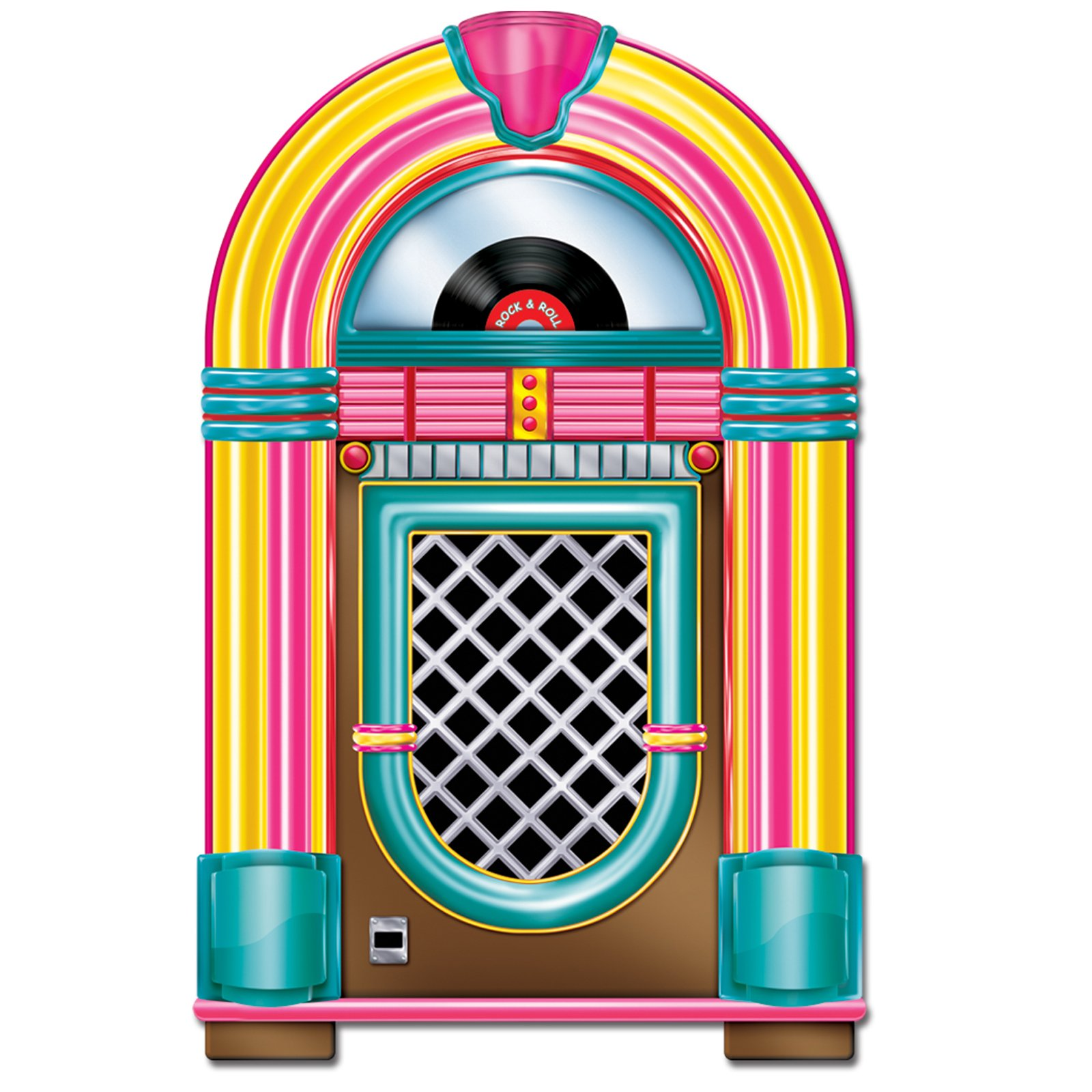 50s jukebox clip art