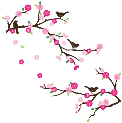 Wall decals cherry blossom highest quality photos